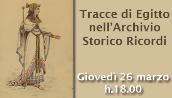 Giovedì 26 marzo h.18.00