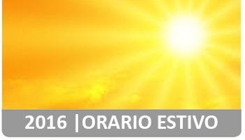 MST - Orario estivo 2016