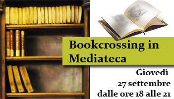 Bookcrossing in Mediateca