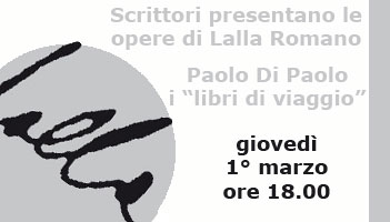 Gioved� 1� marzo 2012 � ore 18